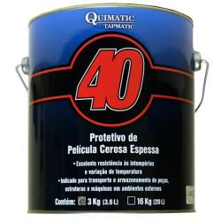 PROTETIVO PELÍCULA CEROSA ESPESSA QUIMATIC 40 3 KG