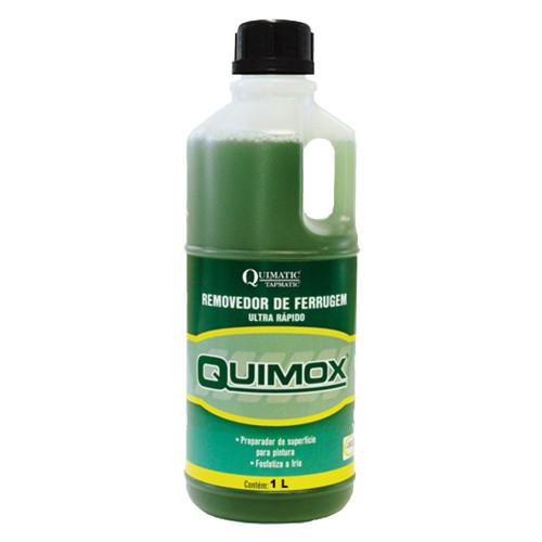 REMOVEDOR DE FERRUGEM QUIMOX 1L - QUIMATIC TAPMATIC