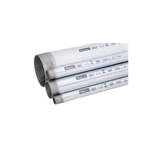 TUBO GALVANIZADO NBR5580 L 2' X 6m - TUPER
