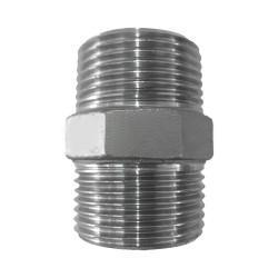 NIPLE INOX 304 150LBS 1.1/2' BSP